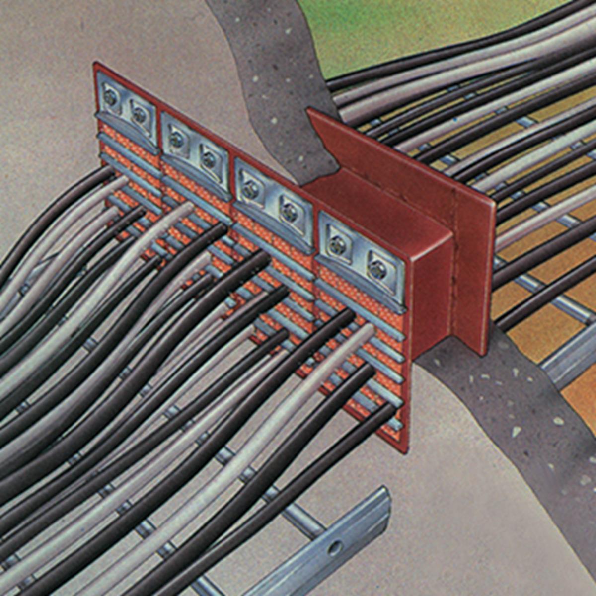 Passage De Cable Dans Cloison traversées de câbles mct standards